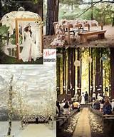 moulin rouge garden table outdoor ceremony winter wedding