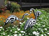 in the garden for amazing homemade outdoor halloween decoration ideas