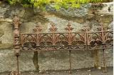 19th C Cast Iron Garden Edging image 8