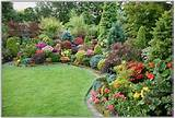 Landscaping Adorable Colorful Flower Garden Backyard Designs ...