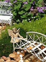 outdoor mini fairy garden