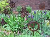diy junk garden art