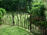 Garden Fencing, Bamboo, Ornamental Iron, Concrete, Steel, Railings ...