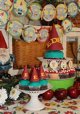 PickleBelle: Vintage Garden Gnome Party - gnomeo and juliet
