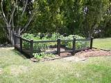 garden fence ideas garden design small vegetable garden design garden ...