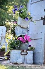 pot planters | DIY Rustic garden decor...I have all the stuff to make ...