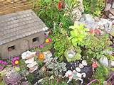 outdoor-ideas-cool-gray-mini-farmhouse-and-lovely-fairy-garden-ideas ...