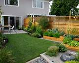 garden ideas with wooden fence awesome small 550x440 filesize 121