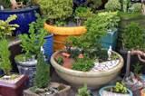 miniature garden accessories are different from fairy garden