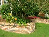 Brick Raised Flower Bed Designs Pic #24