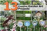 13 creative garden art projects
