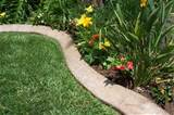 How To: Make Concrete Garden Edging