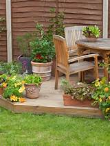 Pack Patio With Variety of Container Gardens