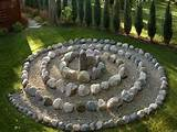 Home : Unique Garden : Unique Garden Décor Ideas With Round Stone