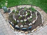an herb spiral is a raised circular bed designed to provide herbs with