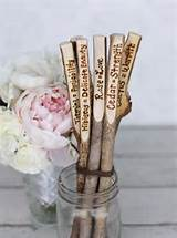 Garden Stakes Plant Markers Rustic Garden Decor by braggingbags, $39 ...