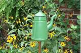 Accenting your garden with art, plus a garden accent making how-to