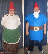 Garden Gnomes (AKA Gnomeo and Juliet) - Halloween Costume Contest via ...