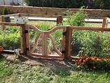 Rustic Garden Gate and Fence