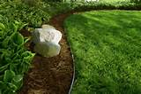 lawn edging ideas - landscape gardening edging ideas home design ideas ...