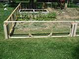 small garden fence ideas – fowler woodworking modular garden fence ...