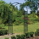 kensington garden arch plus ornamental garden bench arch leaf garden
