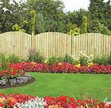 , Most Beautiful Garden Decorations Pictures With Wooden Fences Ideas ...