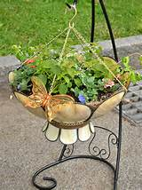 this case upside down– can help you create unusual container gardens ...