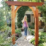 DIY Build A Beautiful Garden Arch
