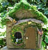 ... fairy house to honor the fairies that visit our miniature fairy garden