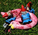 Flesh-Eating Zombie Garden Gnomes! No yard is complete w/out them ...