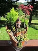 Fairy castle garden