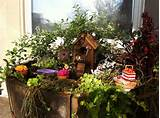 Fairy garden on a table. Is this as large as it looks? How absolutely ...