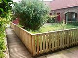 garden fences ideas fencing ideas for backyards back yard privacy