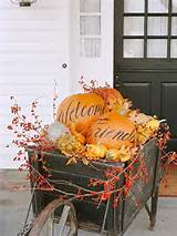37 Fall Front Entry Decorating Ideas