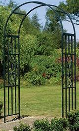 details about new gardman kensington metal garden arch wedding arbor