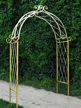 Rustic Garden Decor And Trellises Photograph rustic garden arbor ...