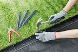 Plastic Lawn Edging - 100 cm x 55 mm