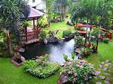 beautiful modern backyard garden pond with gazebo ideas Basics Points ...