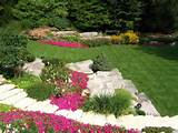 Fine Looking Flower Bed Ideas Full Sun