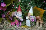 Garden Gnomes Wedding Cake Topper Miniature by PhenomeGNOME, $49.99
