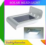 2013 discount new solar 16led light outdoor lighing lamp wall light
