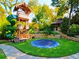 backyard landscaping ideas for kids with small pool hd wallpapers