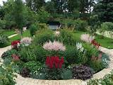 spectacular yard landscaping ideas and flower beds with paver borders