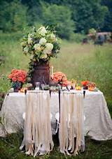 Fall Wedding Decor Fall Outdoor Wedding Ideas