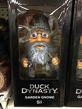 It's a garden Gnome and a magazine cover! Duck Dynasty is everywhere ...