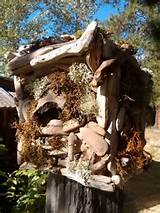 Rustic Birdhouse,Outdoor Decor,hand made ooak gift idea,outdoor living ...