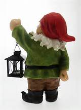 details about 12 gnome novelty garden gnomes ornament with lamp
