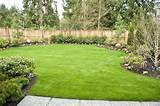 decorating ideas for gardens using free form border landscaping ideas