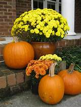 Fall Seasonal Ideas: Decorating Flower Gardens